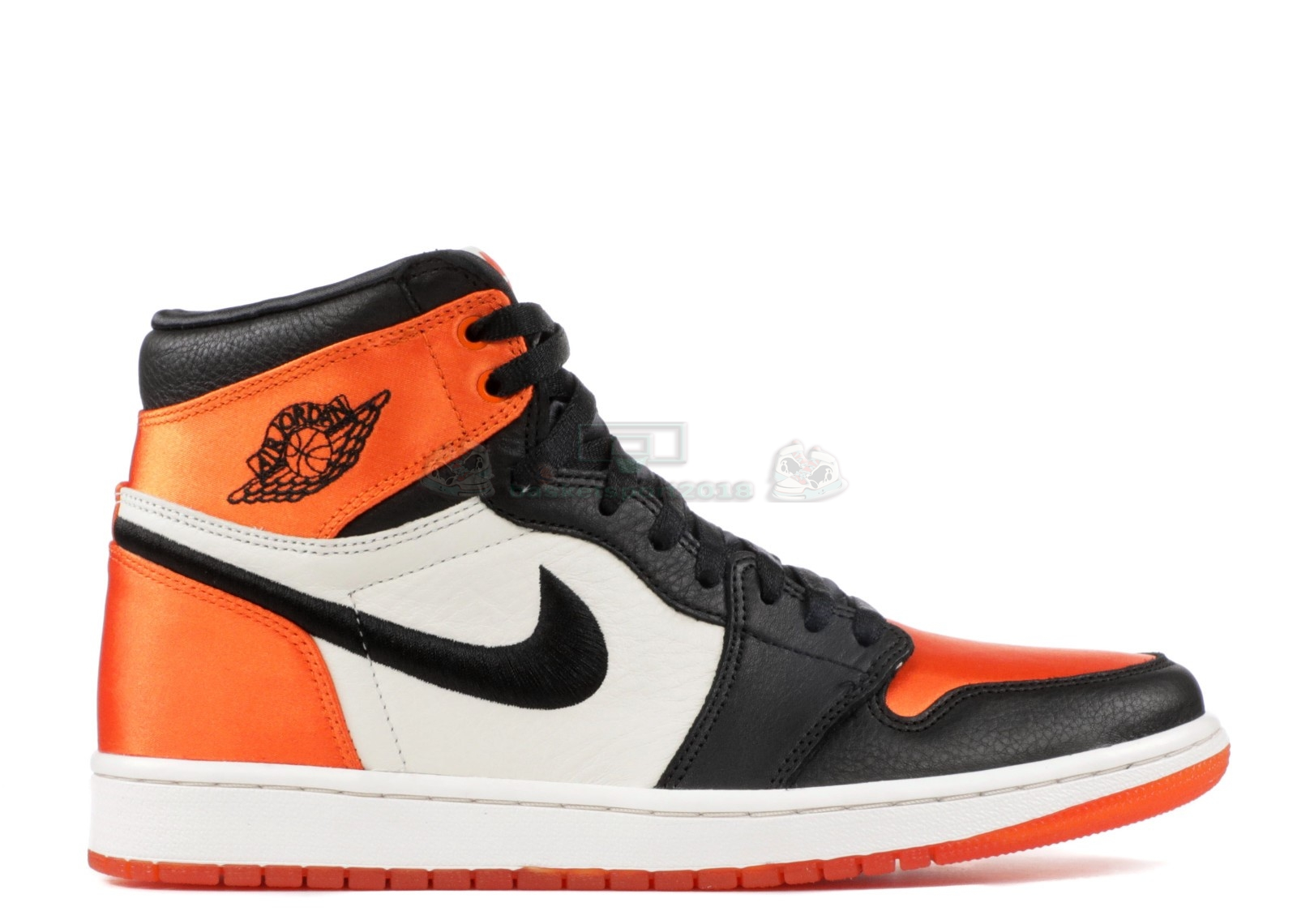 "Acheter Maintenant Pas Cher Femme - Air Jordan 1 Re High Og Sl ""Satin Shattered Backboard"" Noir Orange (av3725-010)"