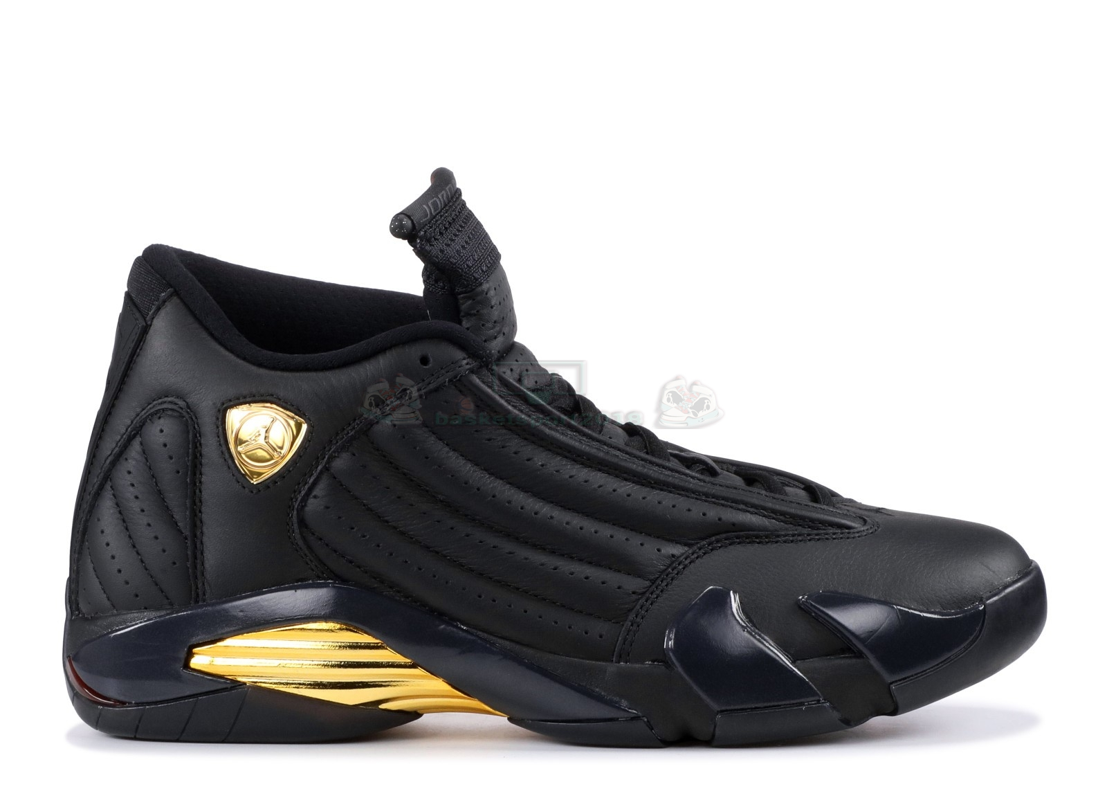 "Acheter Maintenant Pas Cher Homme - Air Jordan 14 Retro ""Defining Moments"" Noir Or (487471-022)"