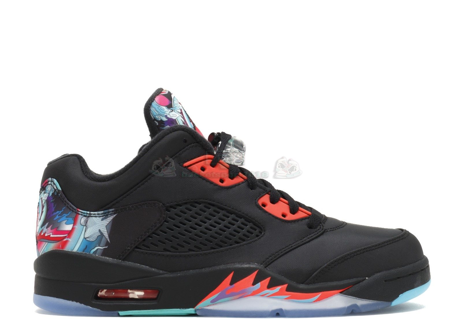 "Acheter Maintenant Pas Cher Homme - Air Jordan 5 Retro Low Cny ""Chinese New Year"" Noir (840475-060)"