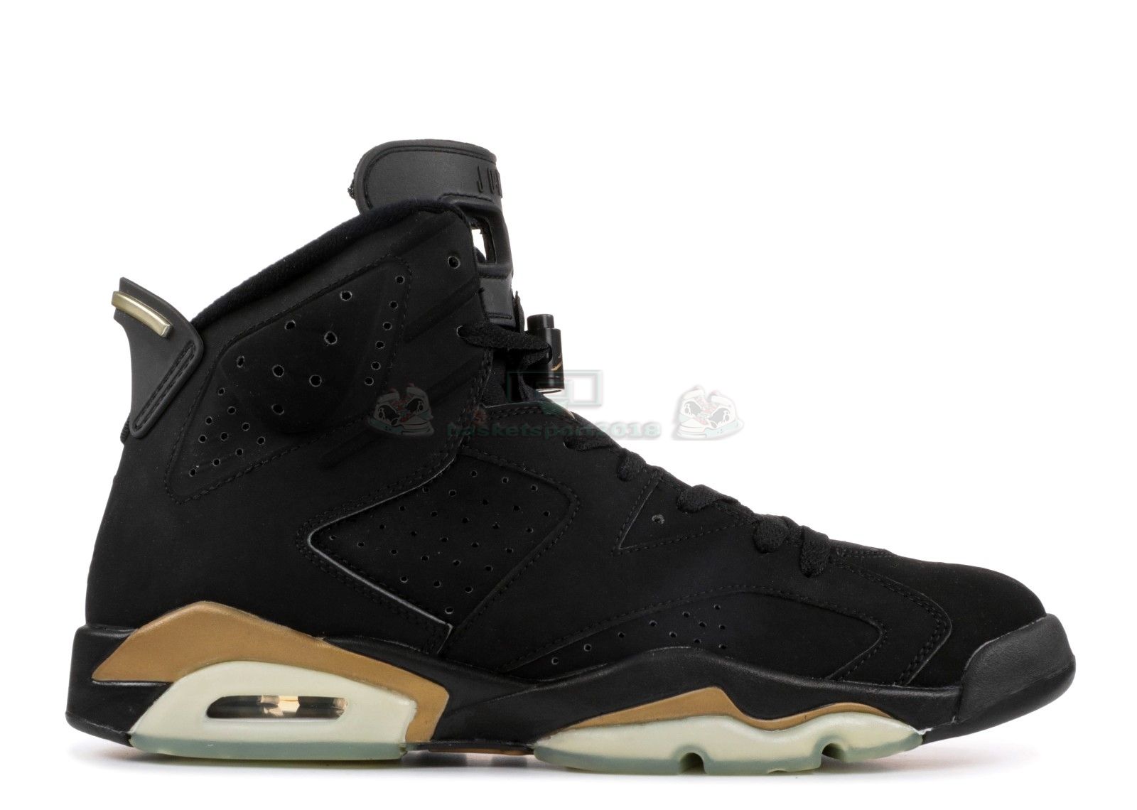 "Acheter Maintenant Pas Cher Homme - Air Jordan 6 Retro+ ""Defining Moments"" Noir Or (136038-071)"