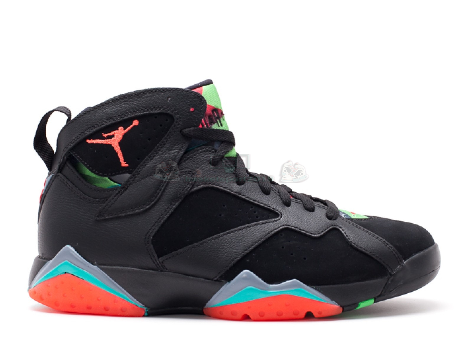 "Acheter Maintenant Pas Cher Homme - Air Jordan 7 Retro ""30Th Barcelona Nights"" Noir Orange (705350-007)"
