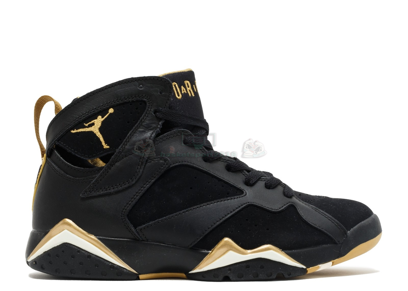 "Acheter Maintenant Pas Cher Homme - Air Jordan 7 Retro ""Golden Moments Package"" Noir Or (304775-030)"