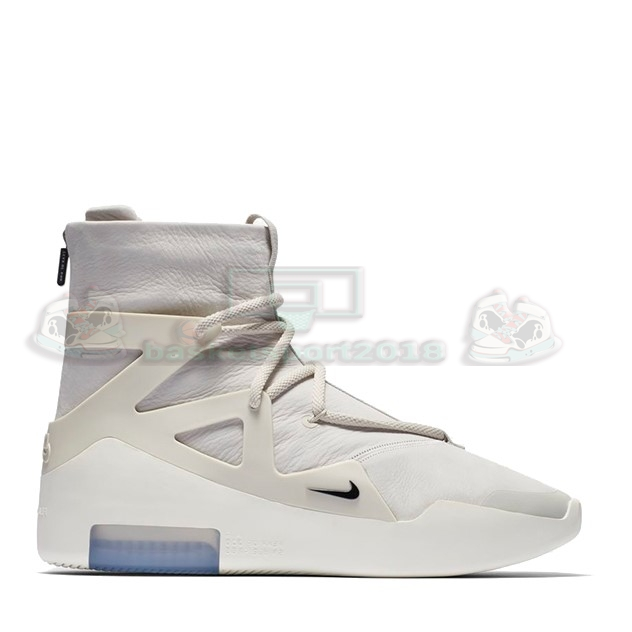 "Acheter Maintenant Pas Cher Homme - Nike Air Fear Of God 1 ""Light Bone"" Blanc (ar4237-002)"