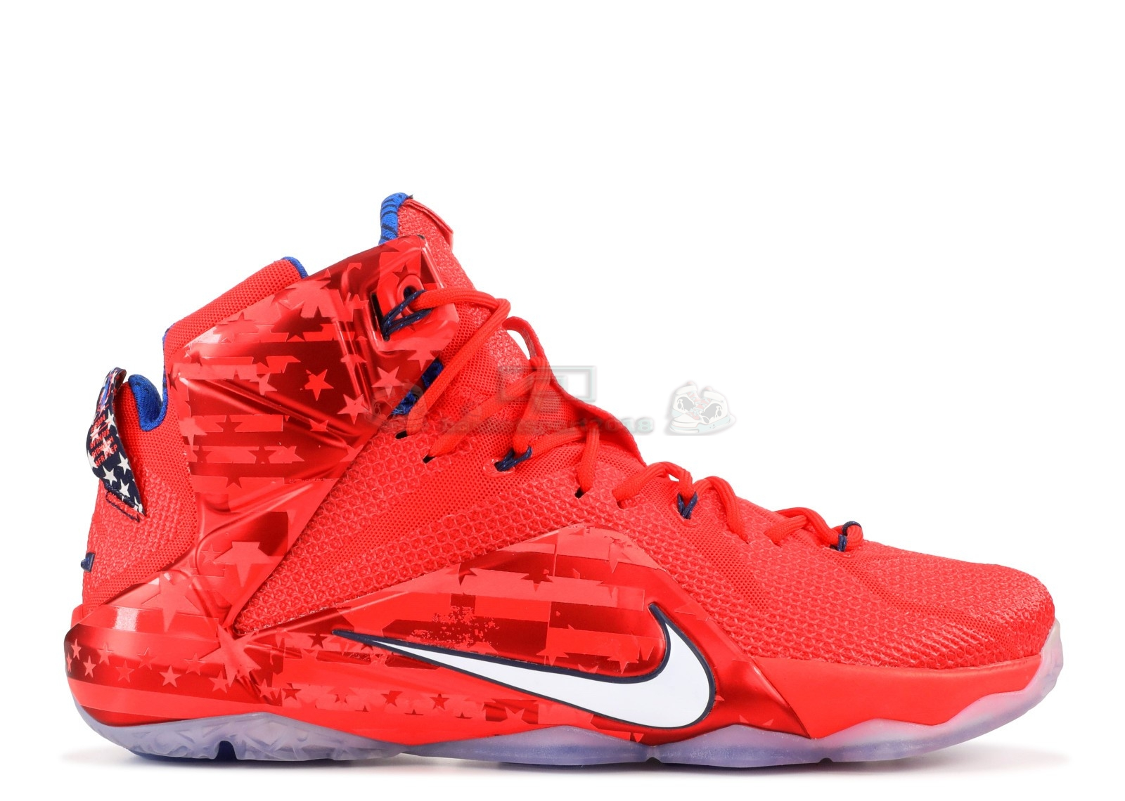"Acheter Maintenant Pas Cher Homme - Nike Lebron Xii 12 ""Usa"" Rouge"