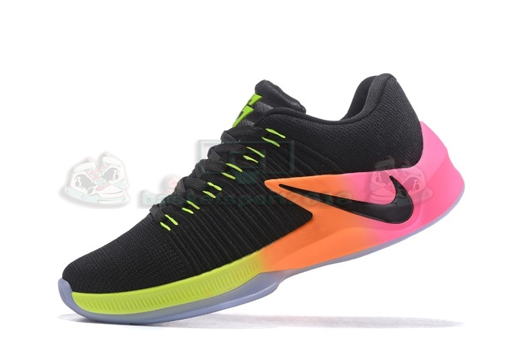 Acheter Maintenant Pas Cher Homme - Nike Zoom Clear Out Low Noir Orange Rose