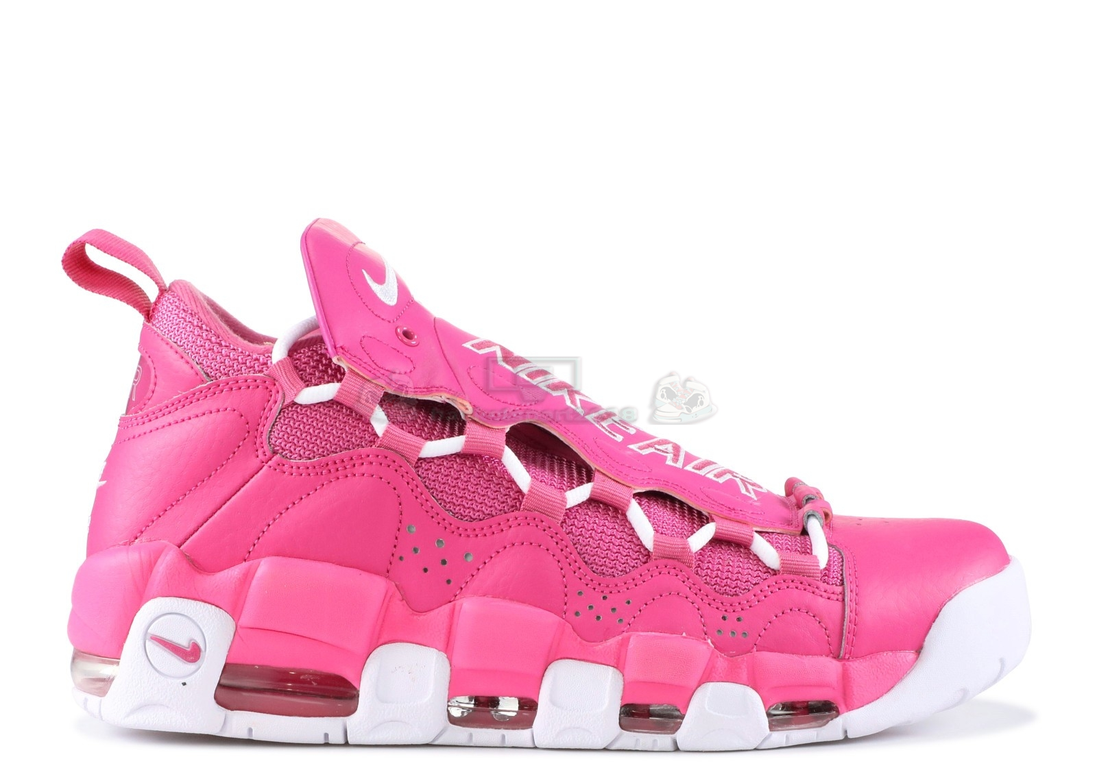 "Acheter Maintenant Pas Cher Homme - Sneaker Room X Air More Money Qs ""Breast Cancer Awareness"" Rose Blanc (aj7383-600)"