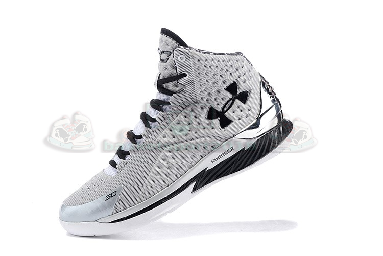 Acheter Maintenant Pas Cher Homme - Under Armour Curry 1 Gris