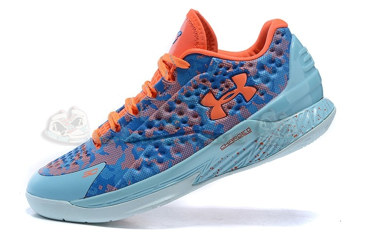 "Acheter Maintenant Pas Cher Homme - Under Armour Curry 1 Low ""Elite 24"" Bleu"
