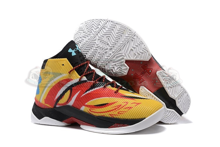 "Acheter Maintenant Pas Cher Homme - Under Armour Curry 2.5 ""Sun Wukong"" Jaune"