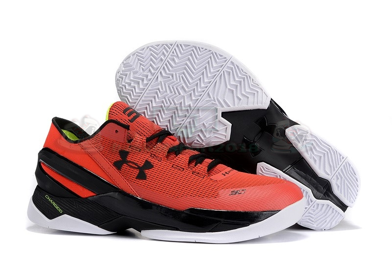 "Acheter Maintenant Pas Cher Homme - Under Armour Curry 2 Low ""All Star"" Rouge Bleu"