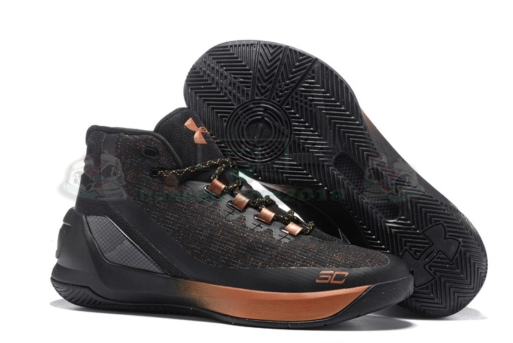 "Acheter Maintenant Pas Cher Homme - Under Armour Curry 3 ""All Star Brass Band"" Noir"