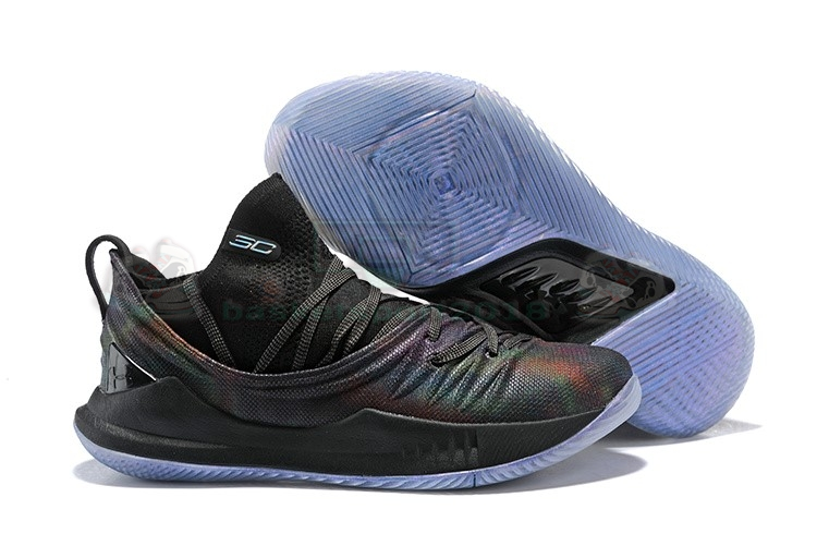 Acheter Maintenant Pas Cher Homme - Under Armour Curry 5 Low Noir