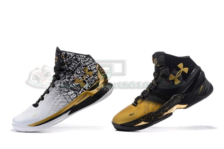 "Acheter Maintenant Pas Cher Homme - Under Armour Curry ""Back To Back"" Pack Noir Blanc"
